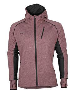 Thermic Hood Jacket Men Burgundy/black