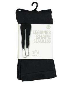 Leggings Shape Solid Seamless Black