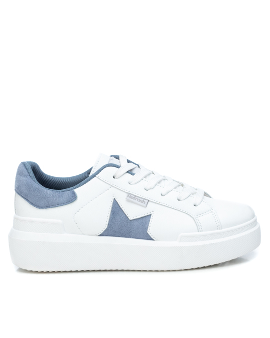 Refresh Pu Ladies Shoes White/jeans