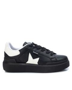 Pu Ladies Shoes Black