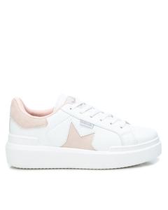 Pu Ladies Shoes White/pink