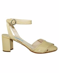 Nude Patent Leather Sandals
