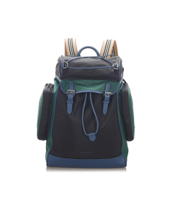 Burberry Nylon Backpack Green