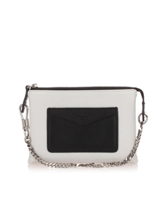Givenchy Leather Baguette White