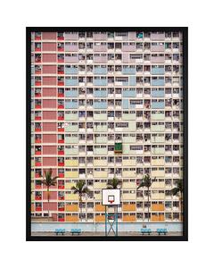 Poster Färgstark Arkitektur