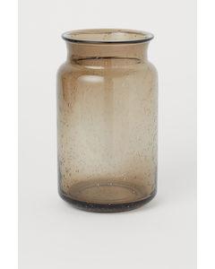 Vas I Glas Beige