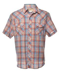 1990s Wrangler Checked Shirt