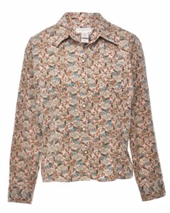 Petites Floral Shirt