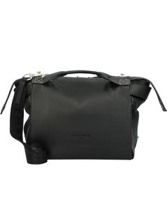 Gray Handtasche Leder 28,5 cm