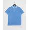 D2. Sunfaded Pique Ss Rugger Pacific Blue