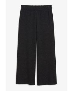 Flowy Trousers Black