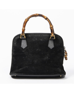 Vintage Bamboo Handbag