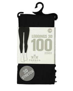 Leggings 100 Den Black