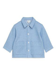 Jersey Overshirt Blue/off White
