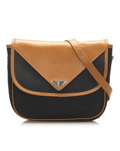 Ysl Leather Crossbody Bag Blue