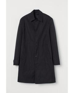 Wasserabweisender Carcoat Schwarz