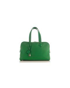 Grüne Clemence Victoria 35 Reisetasche mit SHW