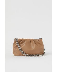 Soft Shoulder Bag Nougat Beige