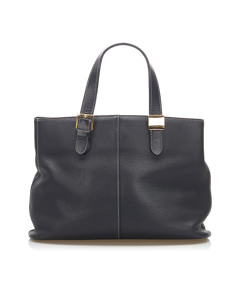 Burberry Leather Handbag Black