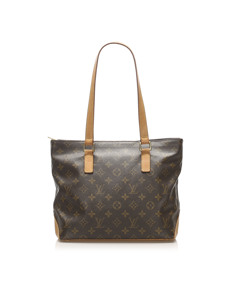 Louis Vuitton Monogram Cabas Piano Brown