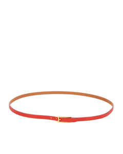Hermes Quentin Reversible Leather Belt Red