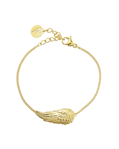 Angel Bracelet Small Gold