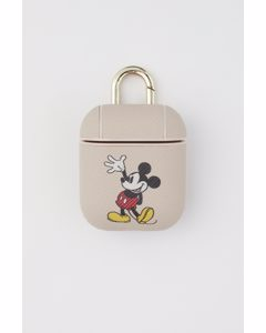 Airpods-case Lichtbeige/mickey Mouse