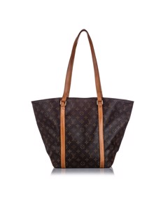 Louis Vuitton Monogram Sac Shopping 48 Brown