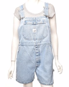 Lee Pinafore Cropped Dungarees - W36