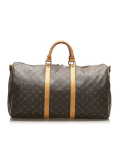 Louis Vuitton Monogram Keepall Bandouliere 50 Brown