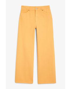 Yoko Yellow Jeans Yellow