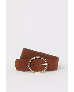 Wide Belt Brown