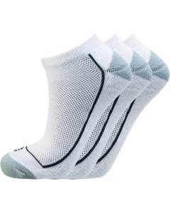 Boron Low Cut Socks 3-pack White