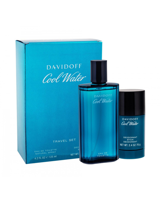 Davidoff Giftset Davidoff Cool Water Edt 125ml + Deostick 75ml