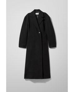 Sanne Wool Blend Coat Black