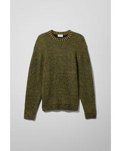 Kalle Birdseye Sweater Yellow