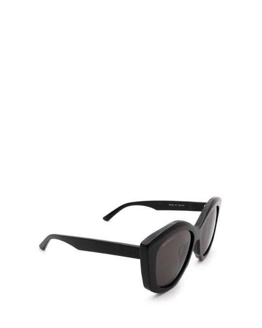 Balenciaga Bb0126s Black Sunglasses