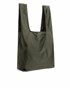 Packable Shopper Green