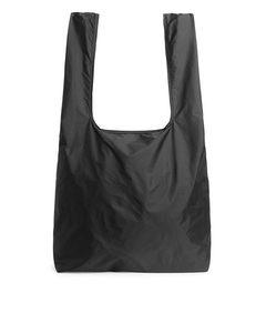 Packable Shopper Black