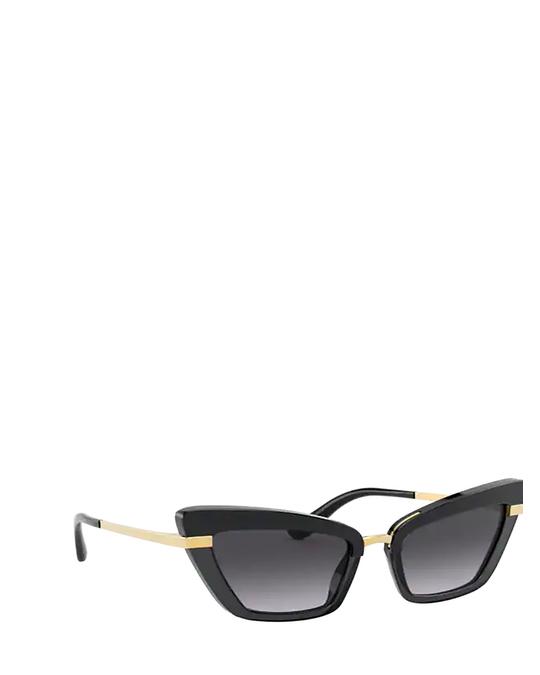 Dolce & Gabbana Dg4378 Black On Transparent Black Sunglasses