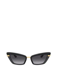 DG4378 black on transparent black Sonnenbrillen