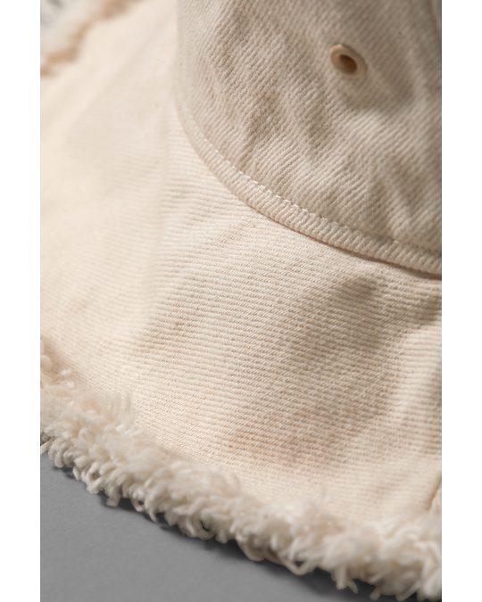 Weekday Noren Bucket Hat White