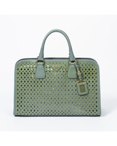 Saffiano Punching Tote