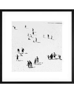 Poster Monokrom Sandstrand