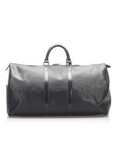 Louis Vuitton Epi Keepall 55 Black