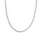 Chain Braided Halskette 40 Cm Steel