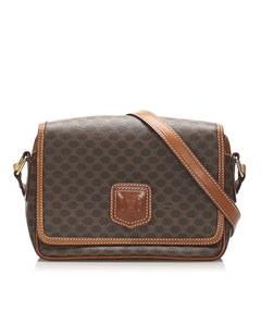 Celine Macadam Crossbody Bag Brown
