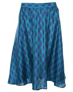 2000s Silk Petites Skirt