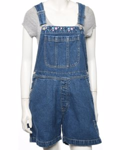 Cherokee Cropped Dungarees