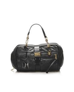 Loewe Leather Handbag Black